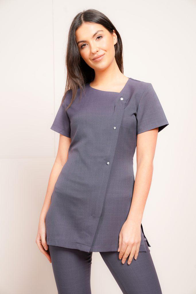 6066733f2f8 Beauty Tunics and Salon Uniforms; Work Glamourous with La Beeby