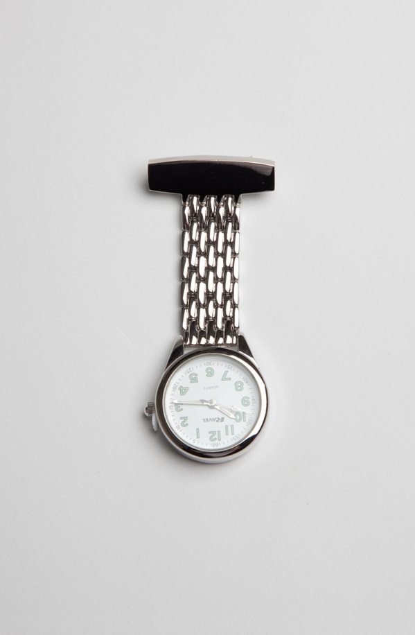 Silver Spa Therapists Fob Watch