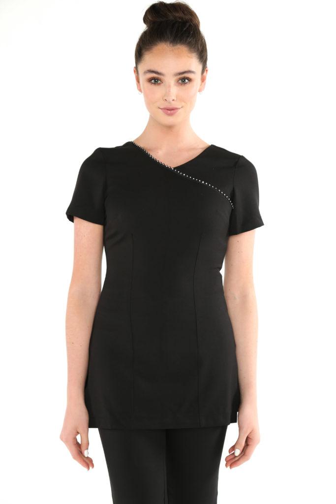 Glamorous salon tunics and beauty tunics from la beeby for White spa uniform uk