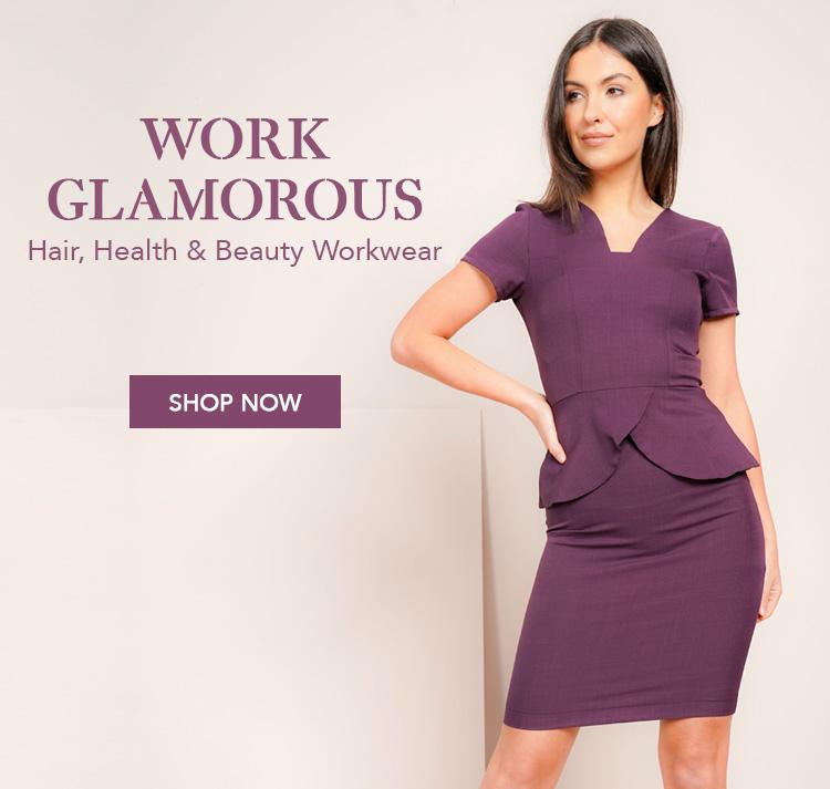 5138b330085 Beauty Tunics and Salon Uniforms  Work Glamourous with La Beeby